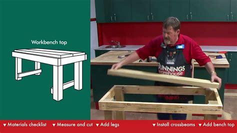 bunnings work bench build plans workbench plans bunnings wooden g plan coffee