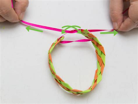 How To Make A Paper Wristband - 3 ways to make a paper bracelet wikihow