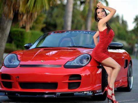 wallpaper girl and car girls and cars wallpaper wallpaperfav com