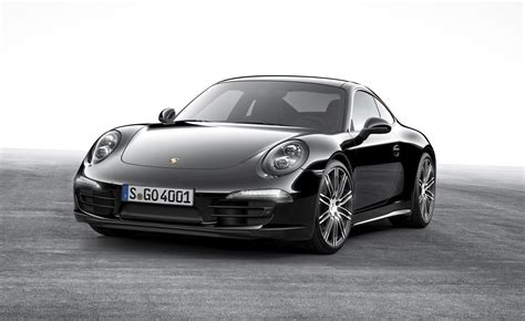 Porsche Schwarz by 2015 Porsche 911 Black Edition The 991 1 S Run