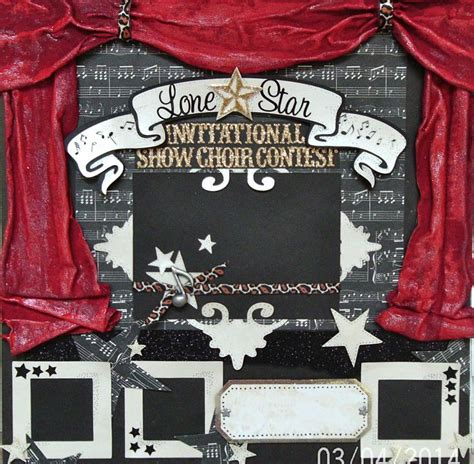 theater best album 17 best images about scrapbook ideas on