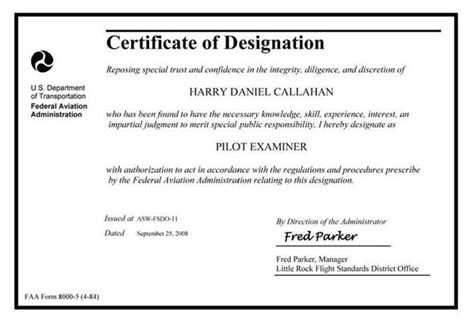 application letter for promotion in designation figure 13 23 faa form 8000 5 certificate of designation