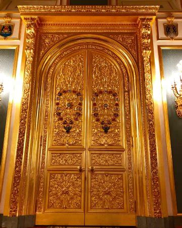 Gold S Door by Gold Door In The Palace Picture Of Grand Kremlin Palace