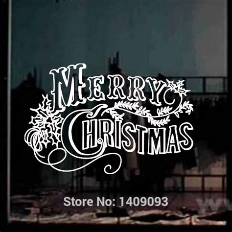 Window Decals Christmas by Compare Prices On Christmas Window Decals Online Shopping