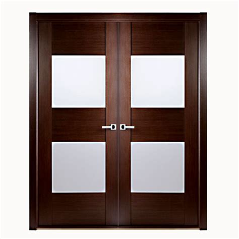 Interior Door Glass Panels by Aries Interior Door In A Wenge Finish With Glass