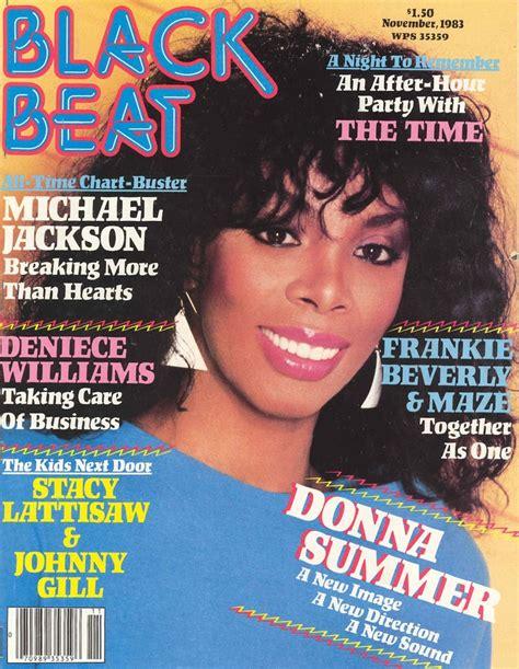 black magazines black beat magazine november 1983 donna summer soul baby soul 2