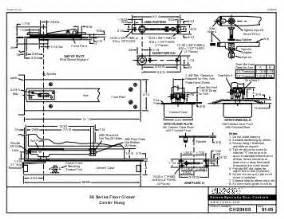 Rixson Templates by Rixson Model F519 Pocket Pivot Installation Epivots