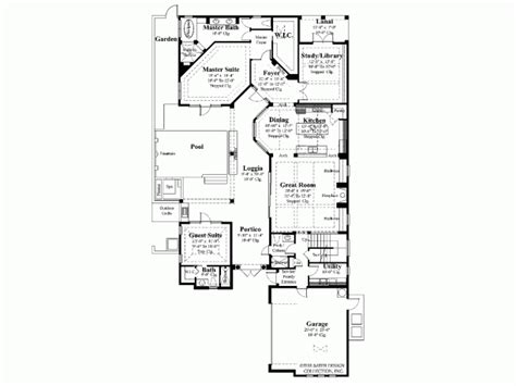 modern courtyard house plans modern home plans with courtyard