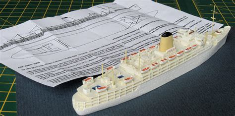 How To Make Ship Models In Paper - len 1 1200 p o liner arcadia by jeff