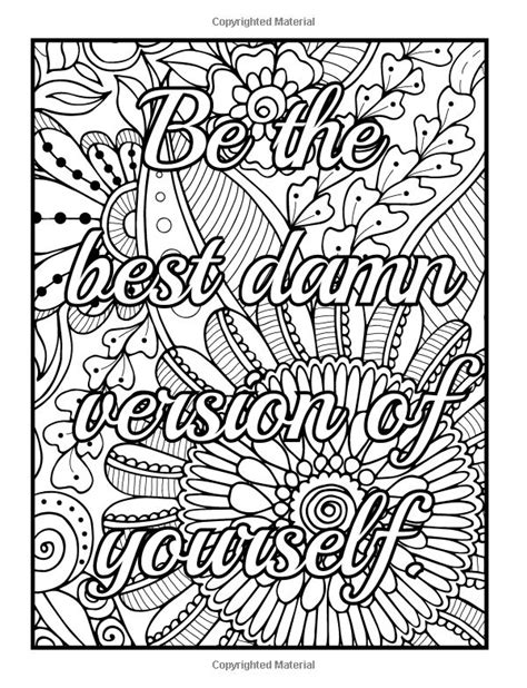Colors Of An Inspirational Coloring Book 651 best images about words coloring pages for adults on