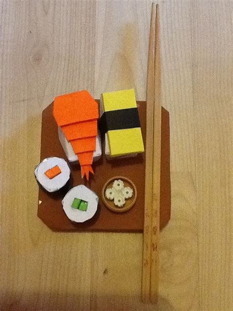 Origami Sushi - origami sushi by jasonchandraws on deviantart