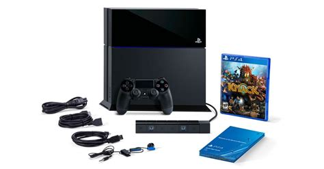 ps4 bundle playstation 4 bundle with camer and knack for 499
