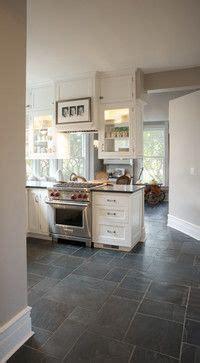 Kitchen tile floor on Pinterest   Stamped Concrete