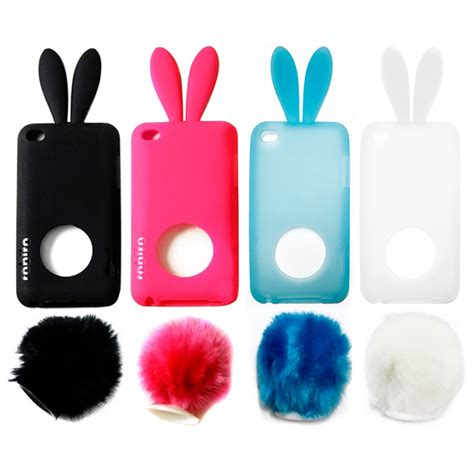 Soft Hp Iphone Tipe 5g Boneka bunny rabbit silicone with for ipod touch 4 4g