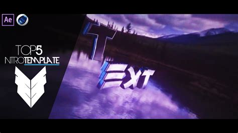 intro templates for after effects cs4 top 5 intro template 23 cinema4d after effects cs4 free