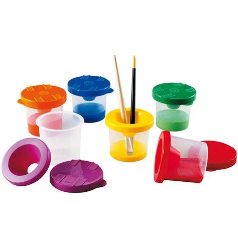 pots de peinture antiverse pinceaux rouleaux et accessoires nathan mat 233 riel 201 ducatif