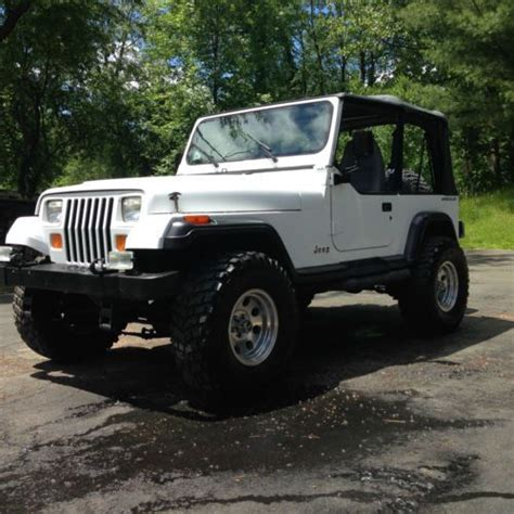 92 Jeep Wrangler For Sale Find Used 92 Jeep Wrangler W New Chevy Lt1 V8 Extremely