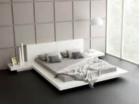 Japanese Bed by White Modern Japanese Style Platform Bed Frame With