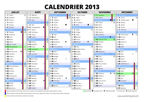 Calendrier 2012 Semaine Calendrier 2013