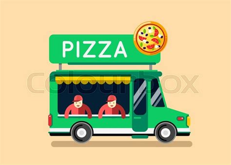 food truck design elements pizza food truck city car food truck auto cafe mobile