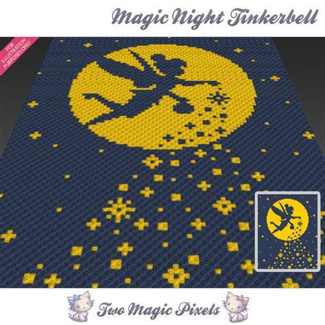 pattern magic 3 free download magic night tinkerbell crochet blanket twomagicpixels