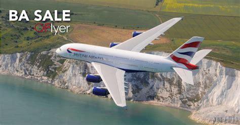 british airways sale qflyer