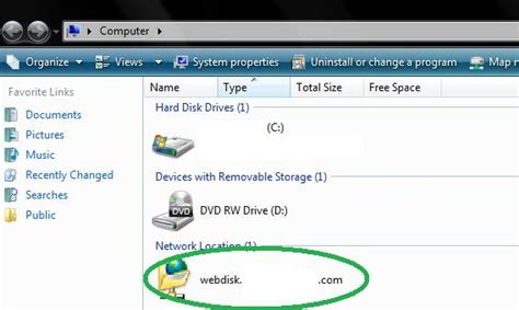 Setup Cpanel Xp | how to setup cpanel s web disk on your computer arvixe blog
