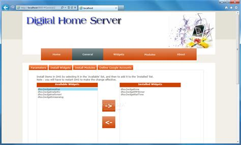 digital home server