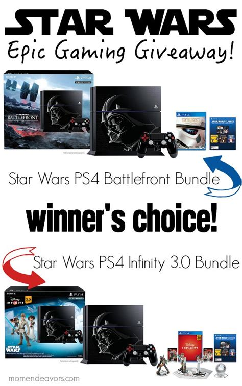 Ps4 Bundle Giveaway - disney infinity 3 0 review epic star wars ps4 bundle giveaway