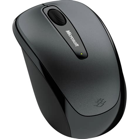 Mouse Wireless microsoft wireless mobile mouse 3500 black gray gmf 00010 b h