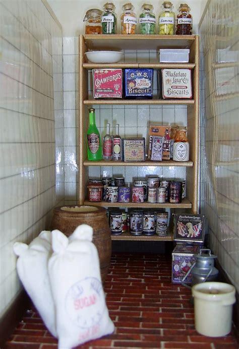 dolls houses  minis   stock  dolls house pantry