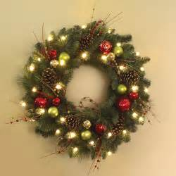 lighted wreaths outdoor allow 2 3 weeks for delivery