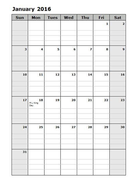 monthly calendar template   printable templates