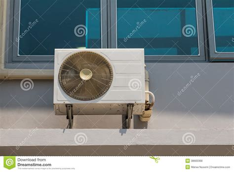wall mounted fan coil air conditioner royalty free stock photos image 38683368