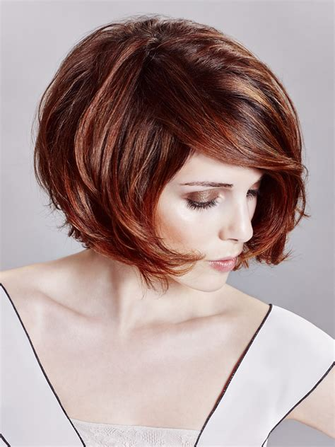 sexy bob hairstyle  sophisticated lines  deep hair