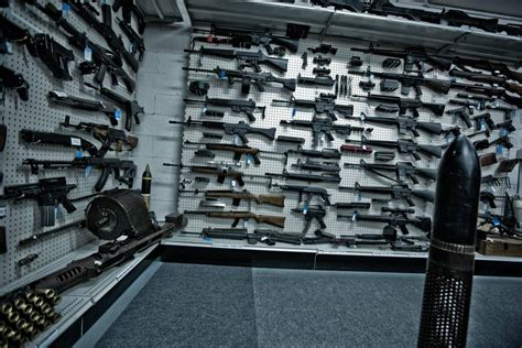 inside mountain outfitter s gun collection armory