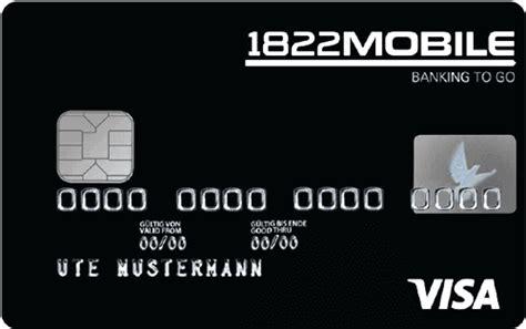 kreditkarte vergleich studenten 1822mobile kreditkarte studenten girokonto vergleich