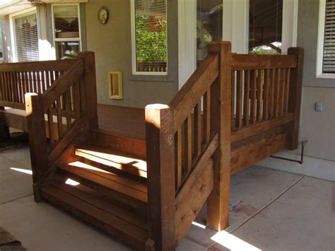 wood car porch timber frame porch deck front porch american