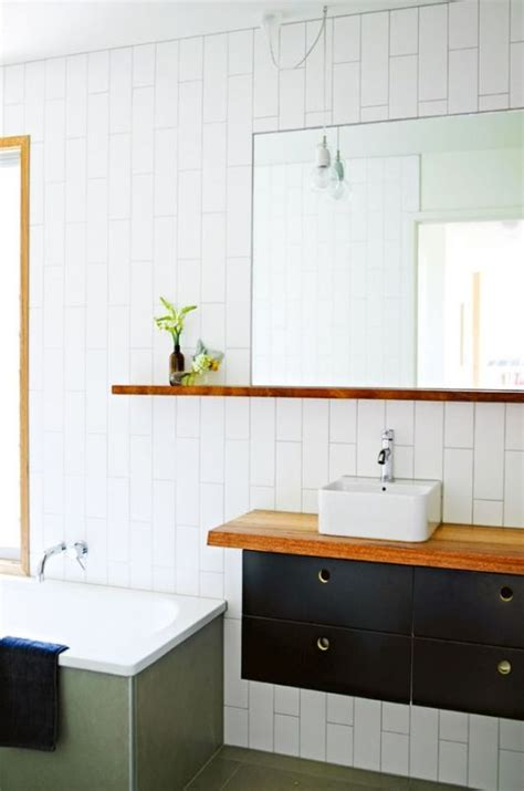 going vertical with subway tile 10 inspiring ways to use subway tiles in your home