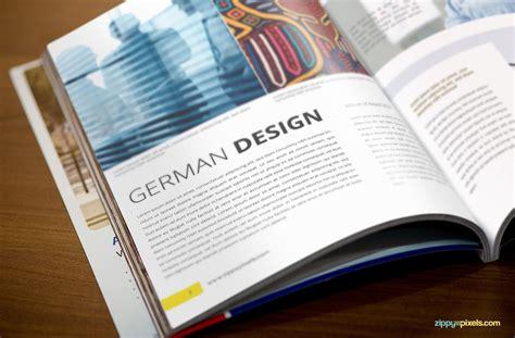 magazine design reference corporate magazine psd mockup pack of 5 mockups zippypixels