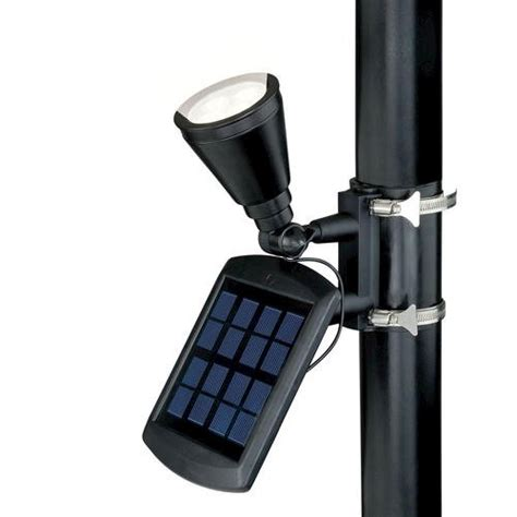 Patriot Lighting Solar Powered Flagpole Flag Light Super Solar Powered Flag Lights