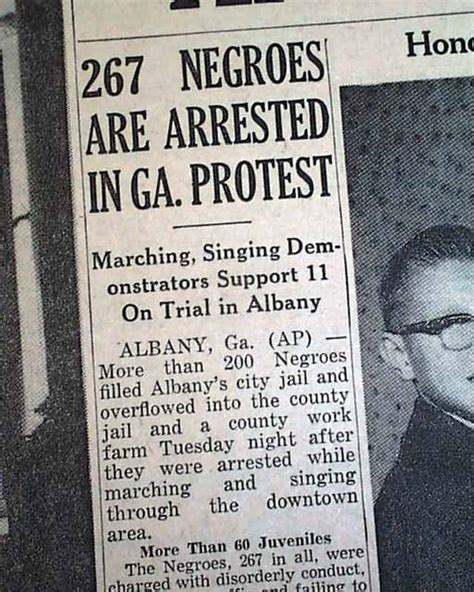 king albany ga martin luther king jr march in albany rarenewspapers