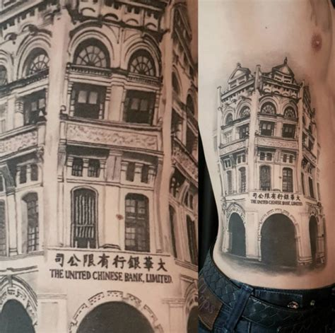 gotham tattoo nyc 21 awesome architecturally inspired tattoo designs
