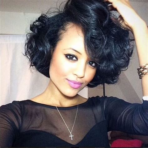 short brazilian body wave beautiful curly bob yodithaile http community