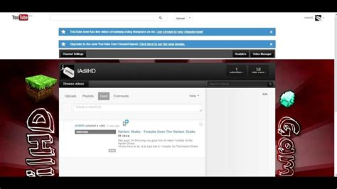 youtube channel layout change how to change the new youtube layout back to old hd