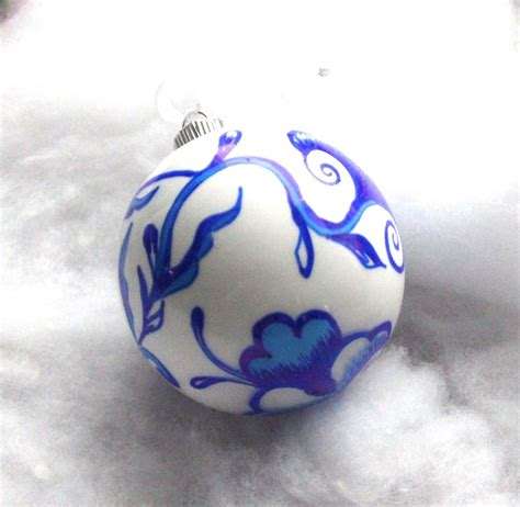 white blue ornaments hometalk blue and white chinoiserie ornament