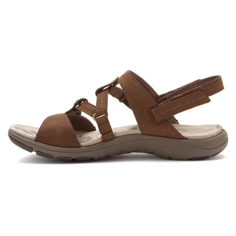 leather sandals merrell women s swivel leather sandals in bracken