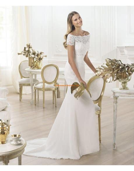 Robe De Mariée Droite Dentelle - robe de mari 233 e droite en dentelle