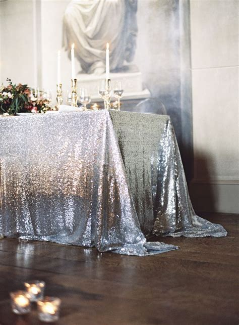 wedding table cloth 25 best ideas about sequin tablecloth on