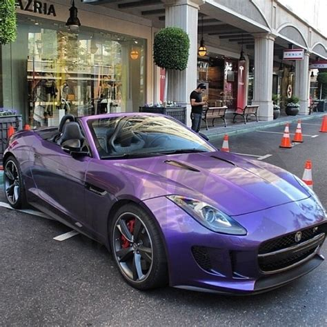 purple jaguar 23 photos of the extraordinary jaguar f type peanut